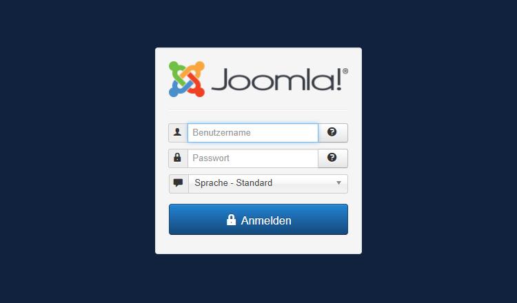 Joomla Login