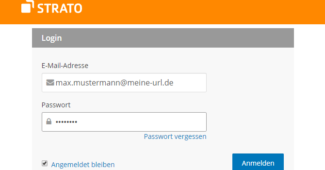 Strato Webmail Login