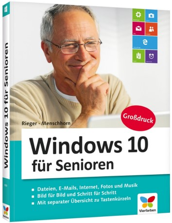 Amazon.de - Buchtipp Windows 10 für Senioren